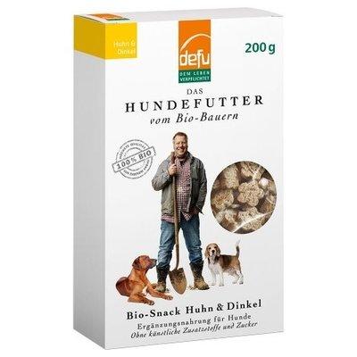 defu Hunde Bio-Snack Huhn & Dinkel