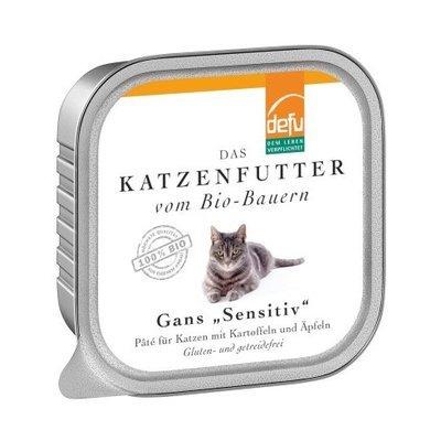 "defu Katzenfutter Gans ""Sensitive"" Pâté"