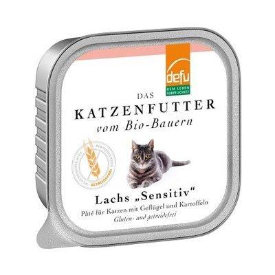 defu Katzenfutter Lachs Sensitive Pâté