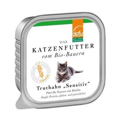 defu Katzenfutter Truthahn Sensitive Pâté