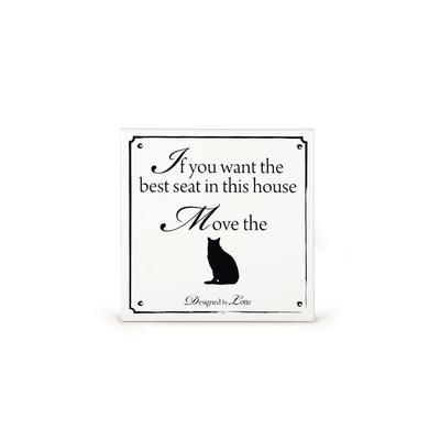Dekofliese für Katzen - Designed by Lotte