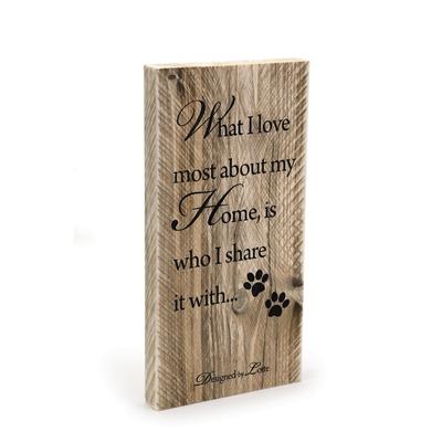 Dekoration aus Holz - Designed by Lotte