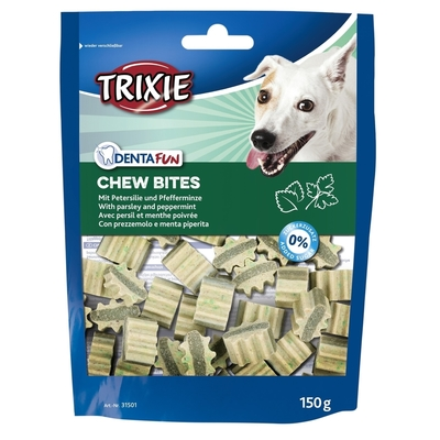 Trixie Denta Fun Chew Bites Zahnpflege Hundesnacks