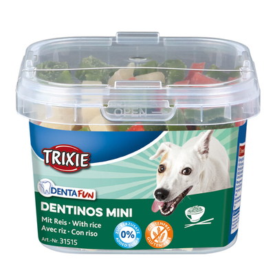 TRIXIE Denta Fun Dentinos Mini vegetarische  Leckerlies