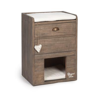 Designed By Lotte Katzenkommode aus Holz
