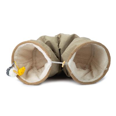 Designed by Lotte Katzentunnel Fenn, ø: 25 cm, 90 cm lang, beige