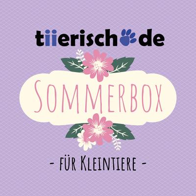Die tiierisch.de Sommerbox für Kleintiere