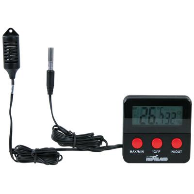 Digital Thermometer Hygrometer mit Fühler