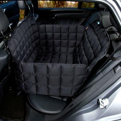 Doctor Bark 2-Sitz-Autodecke für Rücksitz, S: Sitzbreite 60 cm, Sitztiefe 40 cm, Sitzhöhe 50 cm, schwarz