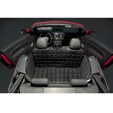 Doctor Bark 2-Sitzer 2-Türer Cabrio Autodecke, M: Sitzbankbreite 120 cm, Sitzhöhe 50 cm, Sitztiefe 60 cm, schwarz