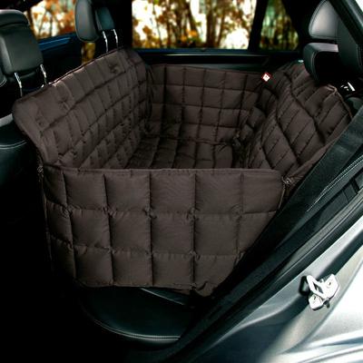 Doctor Bark Autodecke 3-Sitz Rücksitz, S: Sitzbreite 120 cm, Sitztiefe 40 cm, Sitzhöhe 50 cm, braun