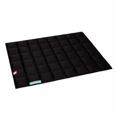 Doctor Bark Einlegedecke für Hundebett, XL: ca. 88 x 68 x 1 cm, schwarz