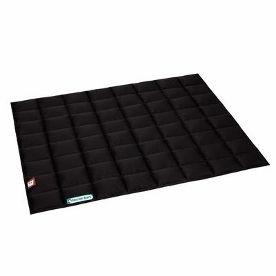 Doctor Bark Einlegedecke für Hundebett, XXL: ca. 100 x 80 x 1 cm, schwarz