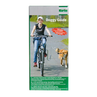 Doggy Guide Fahrradhalter Hund, L: 33 cm B: 21 cm