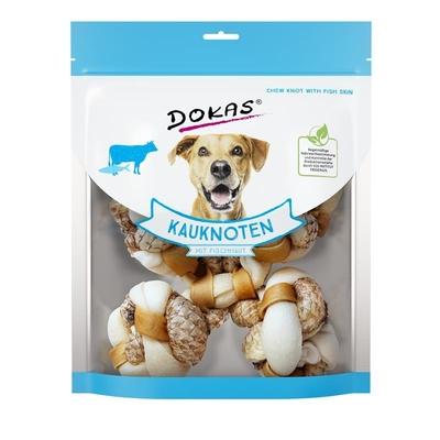 Dokas Hunde Kauknoten mit Fischhaut (Tilapia)