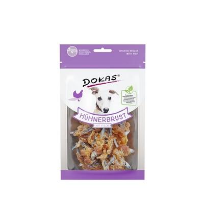 Dokas Hunde Snack Hühnerbrust mit Fisch