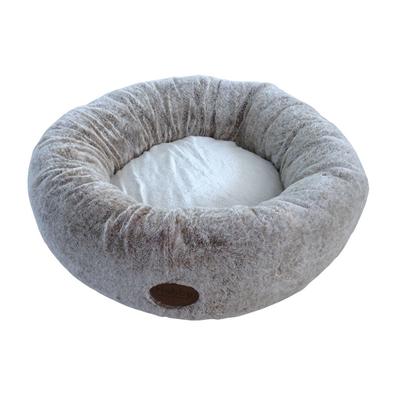 Donut CUDDLY für Hunde und Katzen, Ø 50 cm, hellbraun
