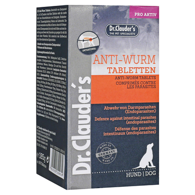 Dr. Clauders Anti-Wurm Tabletten, 450 g