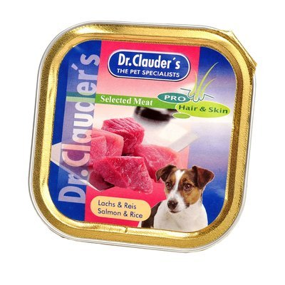 Dr. Clauders Hundenassfutter Schale Selected Meat Hair & Skin