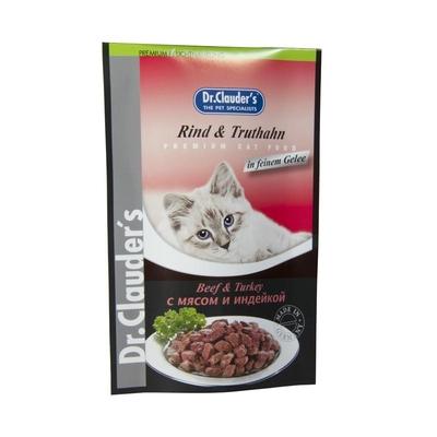Dr. Clauders Premium Katzenfutter im Frischebeutel