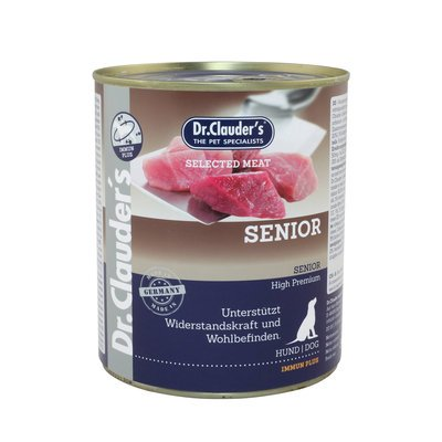 Dr. Clauders Selected Meat Senior Nassfutter für Hunde