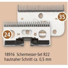 Kerbl Ersatz Schermesser Set für constantaRodeo