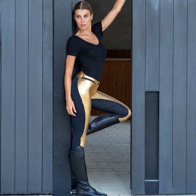 Euro-Star Reithose Equitation Queen mit FullGrip in Gold