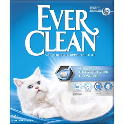 Ever Clean Extra Strong Clumping Katzenstreu ohne Duft