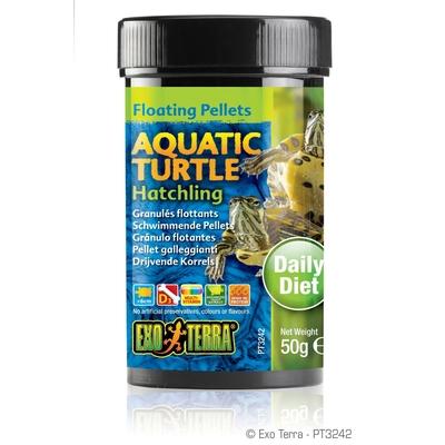 Exo Terra - Aquatic Turtle Hatchling, schwimmende Futter-Pellets
