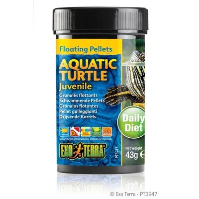 Exo Terra - Aquatic Turtle Juvenile, schwimmende Futter-Pellets