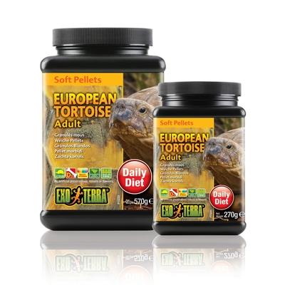 Exo Terra Futter - Soft Pellets für europ. Schildkröten