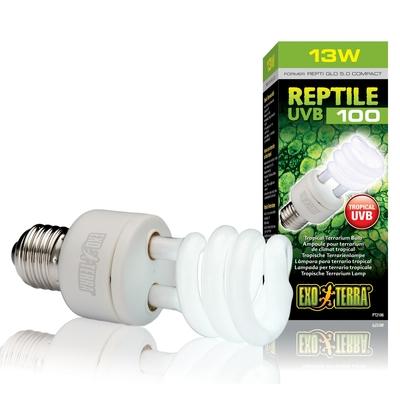 Exo Terra Reptile UVB100 E27 tropische Terrarienlampe