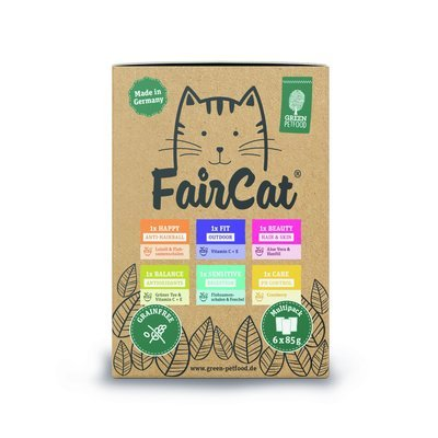 Green Petfood FairCat Multipack Katzenfutter