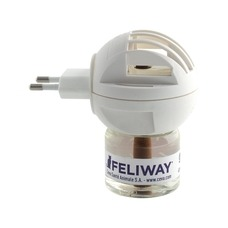 Feliway Happy Home Verdampfer Starter Set für Katzen, Start-Set mit 48-ml Flakon
