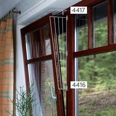 Fenster Schutzgitter Seitenteil für Katzen
