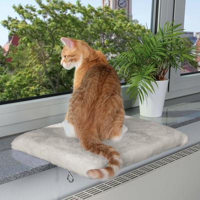Trixie Fensterbank Sitzbrett für Katzen CosyPlace