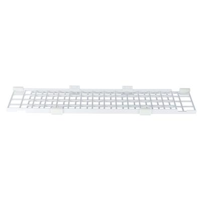 Fensterschutzgitter für Katzen Kunststoff, oben/unten, ausziehbar, 75?125 × 16 cm, weiß