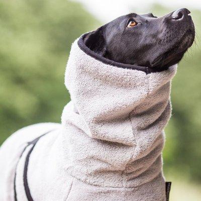 fit4dogs DryUp Cape Royal - Premium Trockenmantel für Hunde