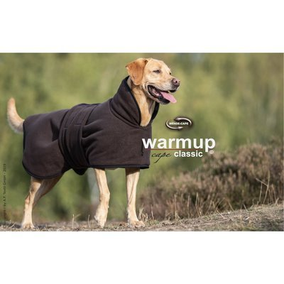 ActionFactory fit4dogs Warmup Cape Classic Hundemantel zum Wenden