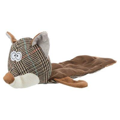 Trixie Fuchs Spielzeug für Hunde aus Plüsch
