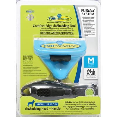 FURflex de Shedding für Hunde, Größe M - Kopf+Stiel