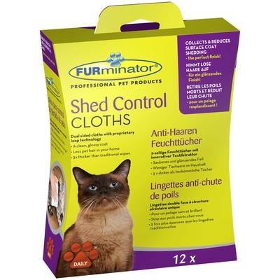 FURminator Anti-Haaren Feuchttücher für Katzen