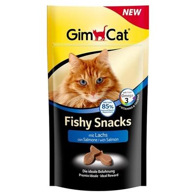 GimCat Fishy Snacks Lachs für Katzen