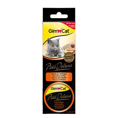 GimCat Pate Deluxe Katzen Snack