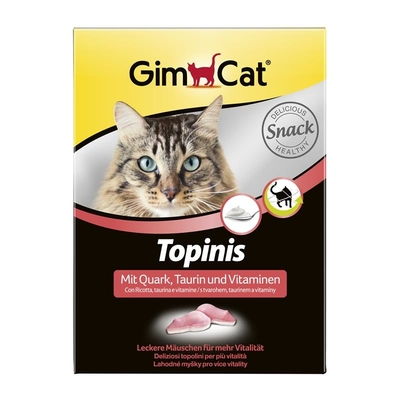 GimCat Gimpet Topinis Quark plus Taurin