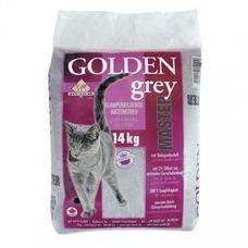 Golden Grey Master mit Babypuderduft Katzenstreu, 14 kg