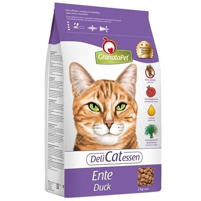 GranataPet DeliCatessen Ente Adult Katzenfutter, 2kg