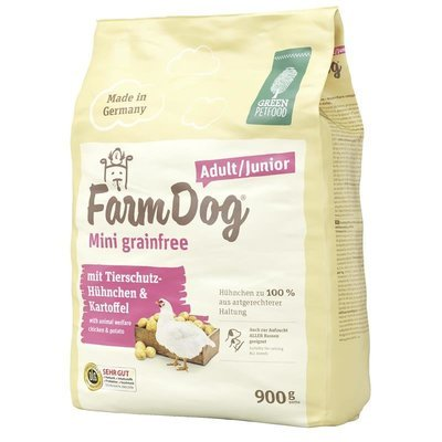 Green Petfood FarmDog Mini grainfree