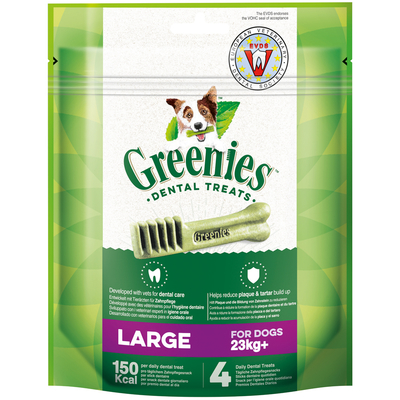 Greenies Zahnpflegesnacks für Hunde, Large