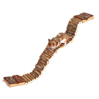 Trixie Hängebrücke für Hamster und Mäuse aus Holz
